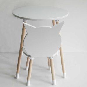 drveni deciji sto, dečija stolica