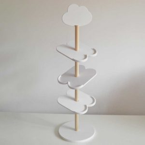 drveni stalak za obuću