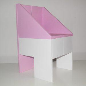drvena kućica , dečja stolica